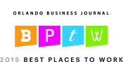 Orlando Business Journal Valintry Best Places to Work 2015